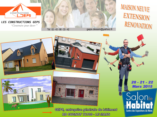 Salon de l'Habitat du Mans 2015 - Constructeur GEPS