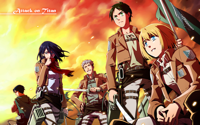 Shingeki no Kyojin: L'Attaque des titans