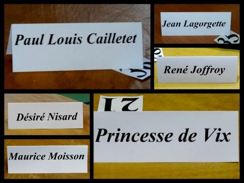 Les décors  de la salle Luc Schréder, pour le banquet des vignerons de ce soir, se sont mis en place...