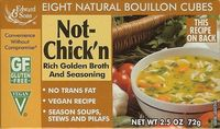 Bouillon cubes Not chicken (goût poulet)