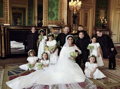 MARIAGE DE HARRY ET MEGHAN A LA CHAPELLE DE WINDSOR LE 19 MAI 2018