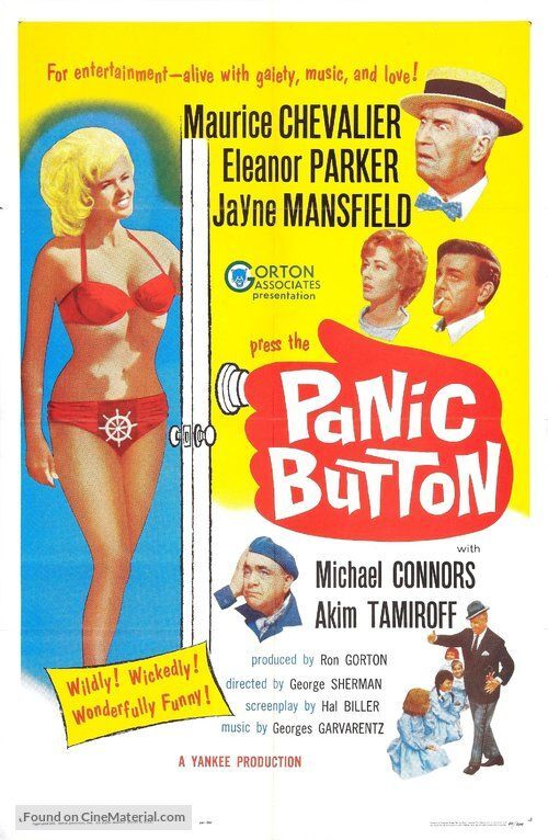 PANIC BUTTON BOX OFFICE USA 1964