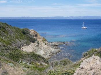 Vers la Baie de Hyères