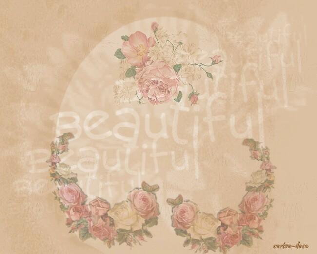 design rose ancienne