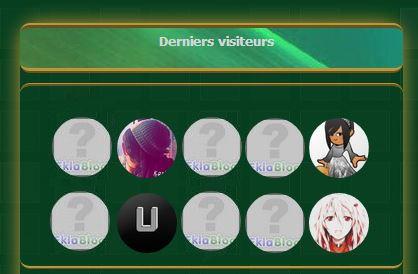 Arrondir les avatars des derniers visiteurs