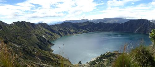 8 ème jour Volcan Quilotoa et divers