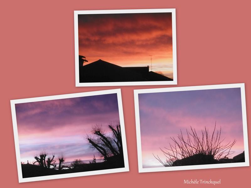 Le ciel au matin du 15 janvier....