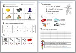 Evaluation - étude des sons en CP