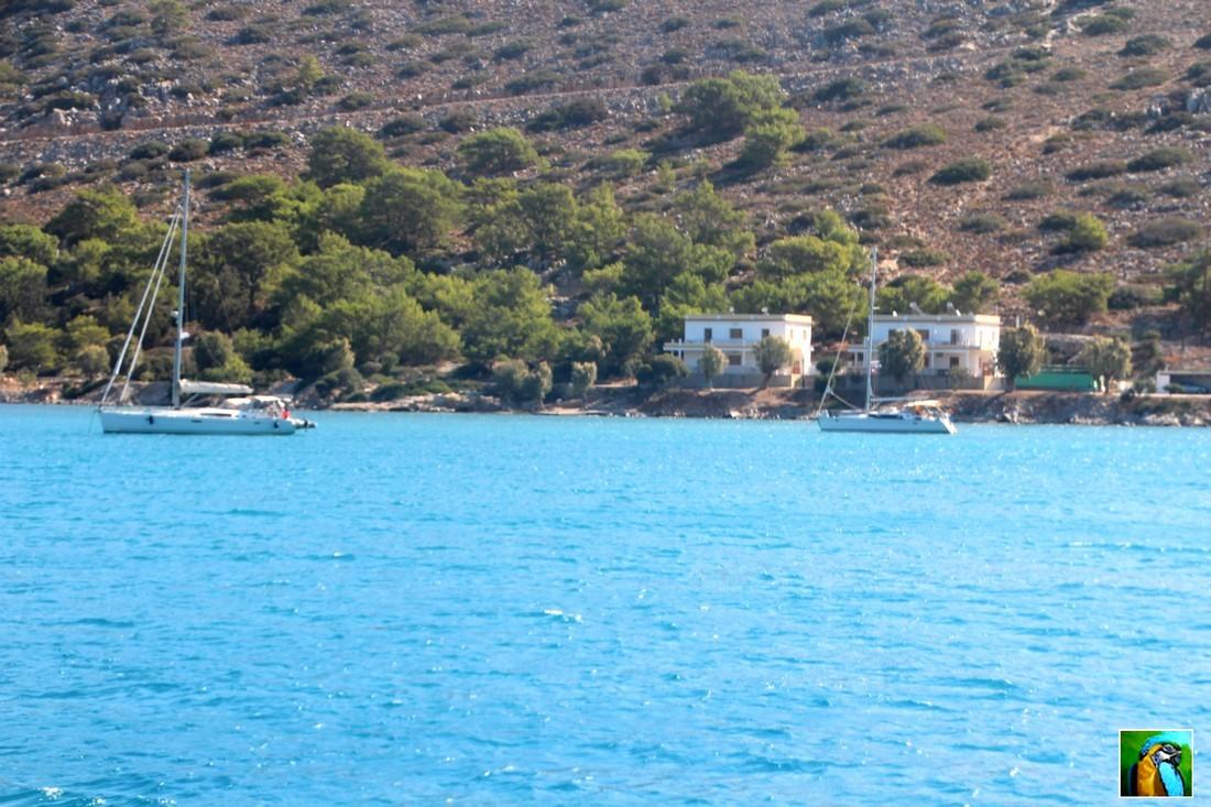 Rhodes : juin 2018 L'île de Symi : le Monastère