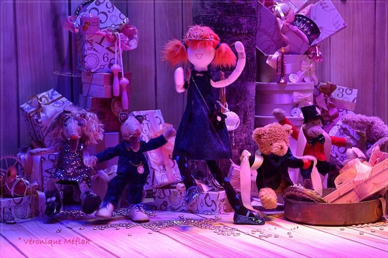 Noël aux Galeries Lafayette : Le Salon de Monsieur et Madame Loup