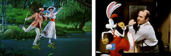 Mary Poppins / Qui veut la peau de Rger Rabbit