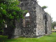 Vestiges de l'église de Champ-Borne