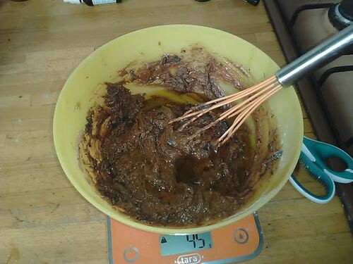 Muffin doubke chocolat et cacahuète {Vegan}