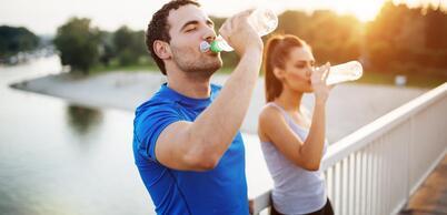 Quelle boisson prendre pendant et après l'effort?