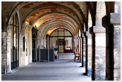 Paris. Place des Vosges.