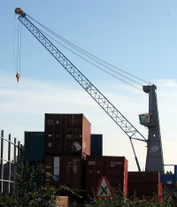 Grue tour du port de Kristiansand