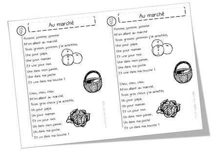 Poèmes sur les pommes, les poires, et les fruits en général !