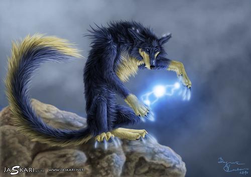 Un Ptit Loup électrique, mais qui à l'air benoite.