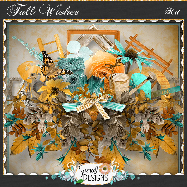 Fall Wishes - Kit by Samal Designs