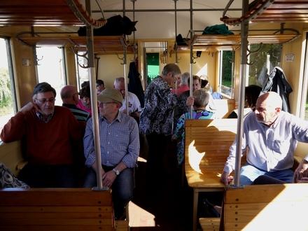 Train vapeur au Crotoy