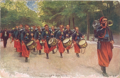 Les zouzous - Zouaves - 1914-1918 - Collectif France 40 - 1940