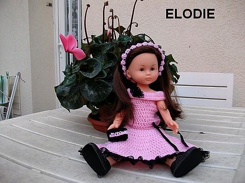Elodie est trop contente d'être ici !