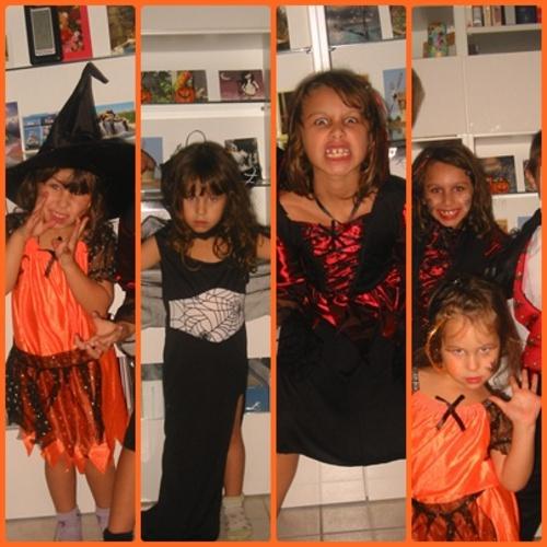 Halloween - les petites sorcières