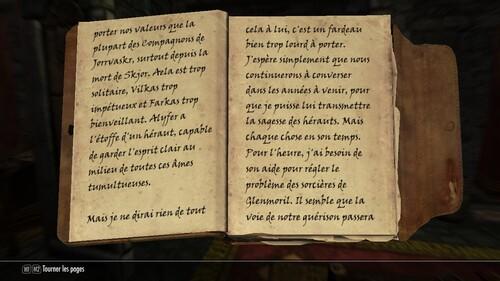 Blancherive IX : Les Compagnons - Partie VI : Gloire Funèbre I