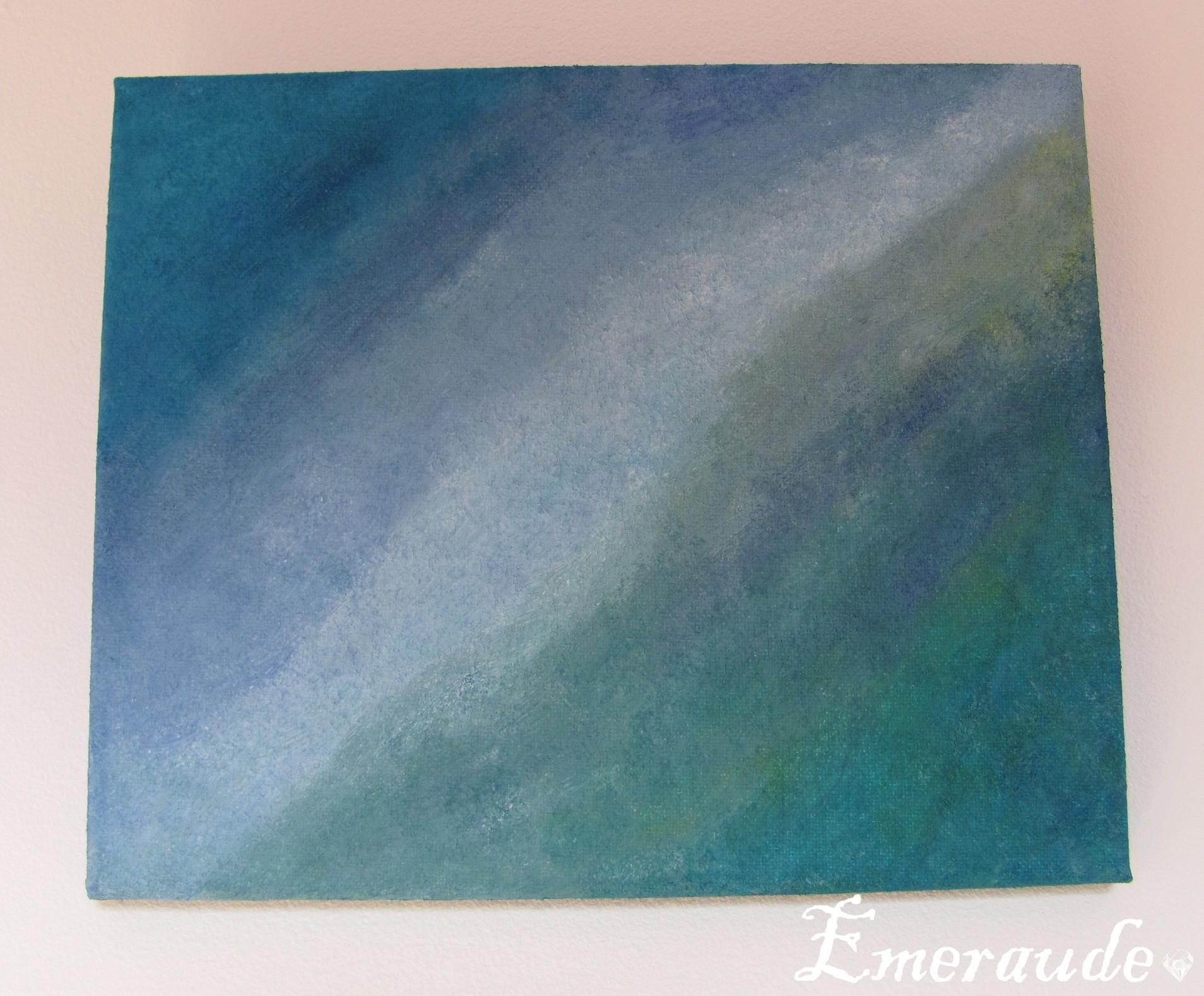 Art abstrait: essais peinture