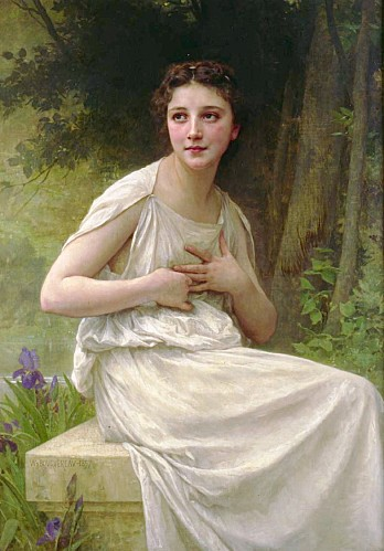 bouguereau william reflexion