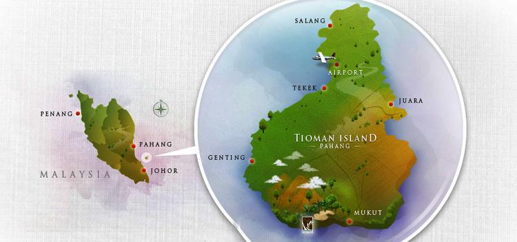 22 Juillet - Arrivée sur Tioman... Grôsse déception !