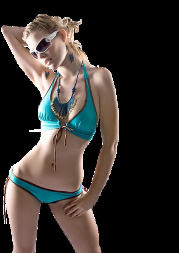 Femme en maillot de bain 3