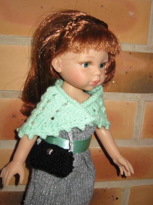 Châle pour poupées Chérie ou paola reina