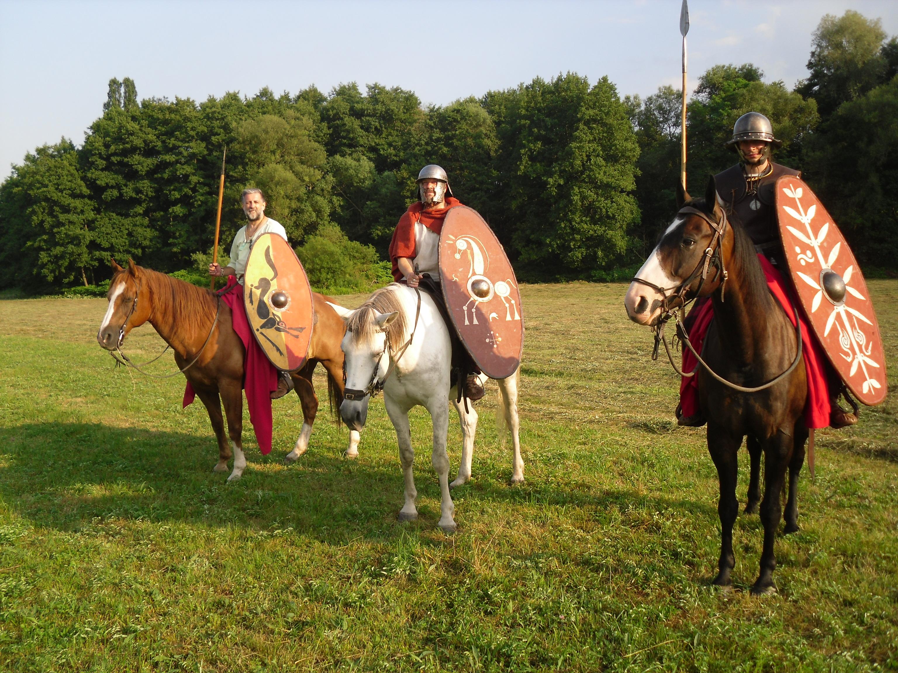 Le commandement de la cavalerie Mediomatrici