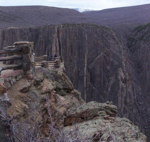 Canyon de Gunnison Parc - COLORADO - USA
