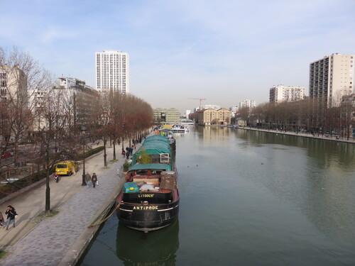 Le Bassin de La Villette Paris