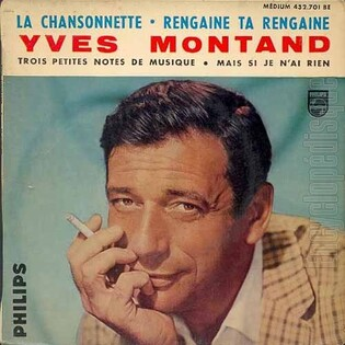 Yves Montand, 1961