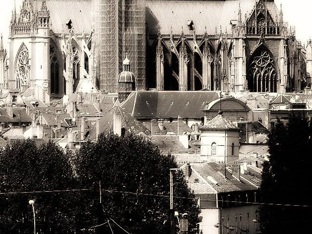 Vu du Centre Pompidou-Metz 8 Marc de Metz 09 02 2013