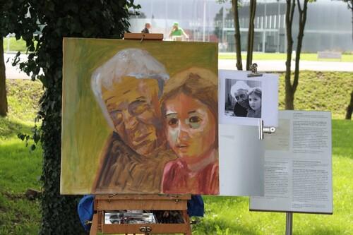 Dans les jardins du Louvre à Lens- 30 août 2015
