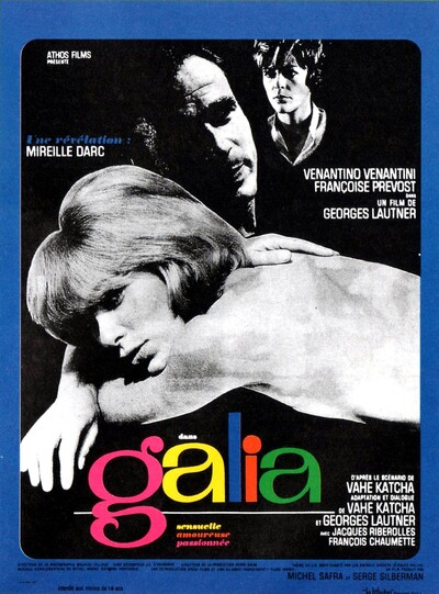 GALIA BOX OFFICE PARIS 1966
