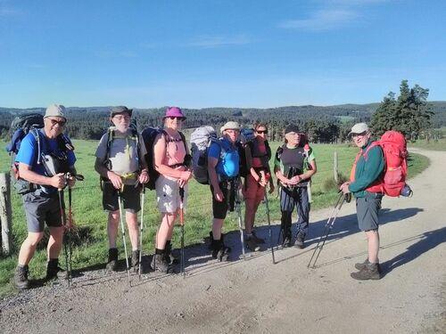 mercredi - les premiers pas sur le chemin de Saint Guilhem