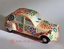 Idées de décoration de fête thème rétro, vintage, voitures, flower-power - Arts et Sculpture: sculpteur designer