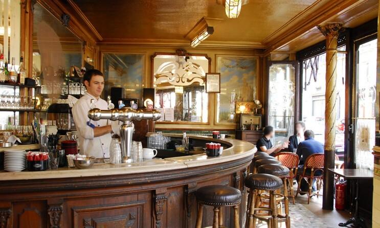 Le bistrot le plus cinématographique de Paris.