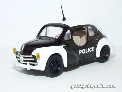 Renault 4cv Pie 1955
