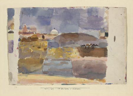 Aux portes de Kairouan (Paul Klee)