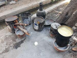 La cuisine au feu de bois