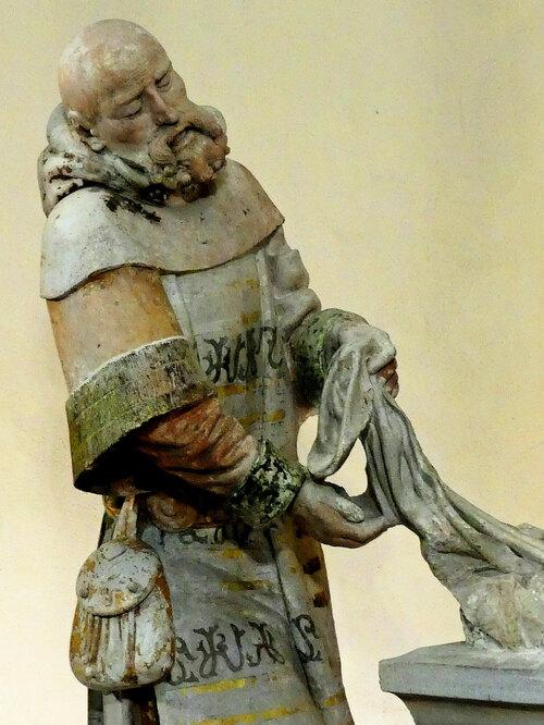 Louis d'Ambroise fixé dans la pierre