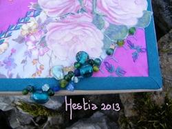boîte féerique perles
