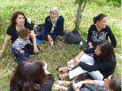 Le jardin de Familles de l'EPE07