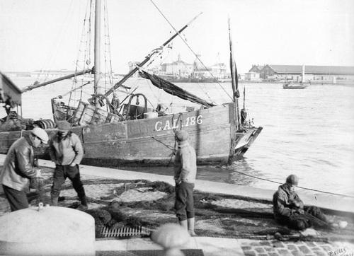 La pêche en bateau